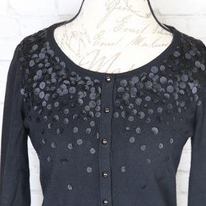 White House Black Market Sweaters - WHBM Black 3/4 sleeves Cardigan